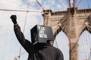 Global Support Advocates Black Lives Matter Protests, Under The Slogan Of 'I Can't Breathe'.